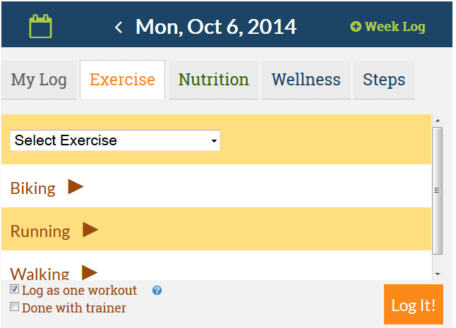 DailyEndorphin Quick Log